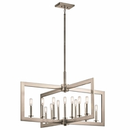 Kichler 43901CLP Cullen Classic Pewter Hanging Chandelier