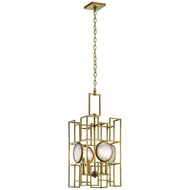 Kichler 43933NBR Vance Contemporary Natural Brass Foyer Light Fixture