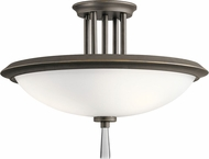Kichler 43960OZ Dreyfus Modern Olde Bronze Overhead Lighting