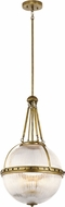 Kichler 43968NBR Aster Modern Natural Brass Hanging Light Fixture