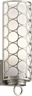 Kichler 43989NI Melrose Brushed Nickel Wall Light Sconce