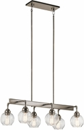 Kichler 43994AP Niles Contemporary Antique Pewter Kitchen Island Lighting