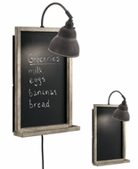 Kichler 44015WZC Modern Olde Bronze Chalkboard Wall Lighting