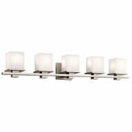 Kichler 45193AP Tully Antique Pewter 5-Light Bathroom Lighting Fixture
