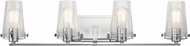 Kichler 45298CH Alton Modern Chrome 4-Light Vanity Lighting
