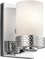 Kichler 45558CH Contessa Modern Chrome Wall Lighting Sconce