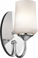 Kichler 45568CHL16 Aubrey Chrome LED Wall Sconce Lighting