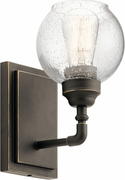 Kichler 45590oz Niles Contemporary Olde Bronze Wall Sconce