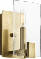 Kichler 45701NBR Signata Contemporary Natural Brass Wall Lighting Fixture