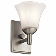 Kichler 45731NI Serena Brushed Nickel Wall Light Sconce