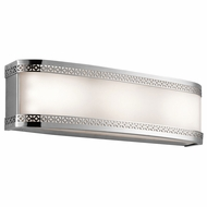Kichler 45852CHLED Contessa Contemporary Chrome LED 18  Bathroom Lighting