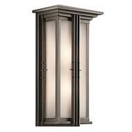 Kichler 49160OZFL Portman Square Olde Bronze Fluorescent Exterior Extra Large Wall Sconce