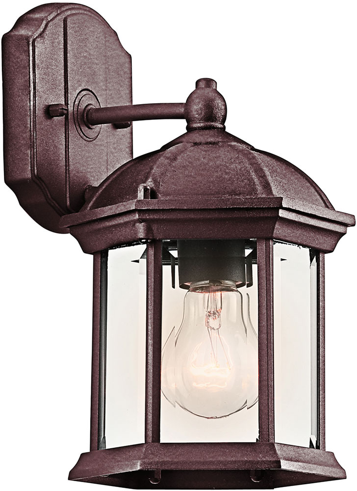 Kichler 49183TZL16 Barrie Traditional Tannery Bronze LED Exterior