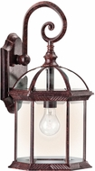 Kichler 49186TZL16 Barrie Traditional Tannery Bronze LED Exterior Wall Sconce Lighting