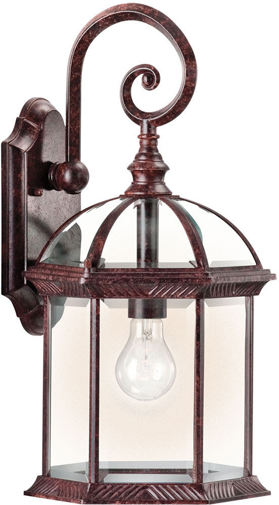 Exterior Wall Sconces Traditional : Kichler 49186TZL16 Barrie Traditional Tannery Bronze LED Exterior Wall Sconce Lighting - KIC ...