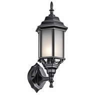 Kichler 49255BKS Chesapeake Traditional Black Outdoor Sconce Lighting