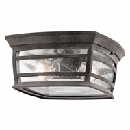 Kichler 49277WZC McAdams Weathered Zinc Exterior Ceiling Light