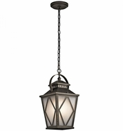 Kichler 49294OZ Hayman Bay Olde Bronze Outdoor Hanging Pendant Lighting