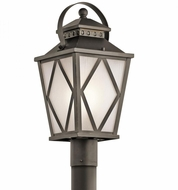 Kichler 49295OZ Hayman Bay Olde Bronze Exterior Post Lighting