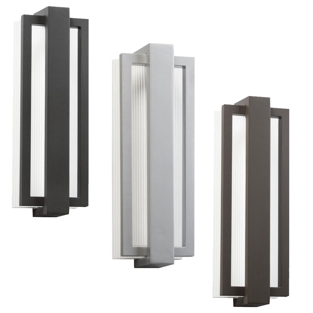 kichler  sedo contemporary  wide led outdoor wall sconce  - kichler  sedo contemporary nbsp wide led outdoor wall sconcelighting loading zoom