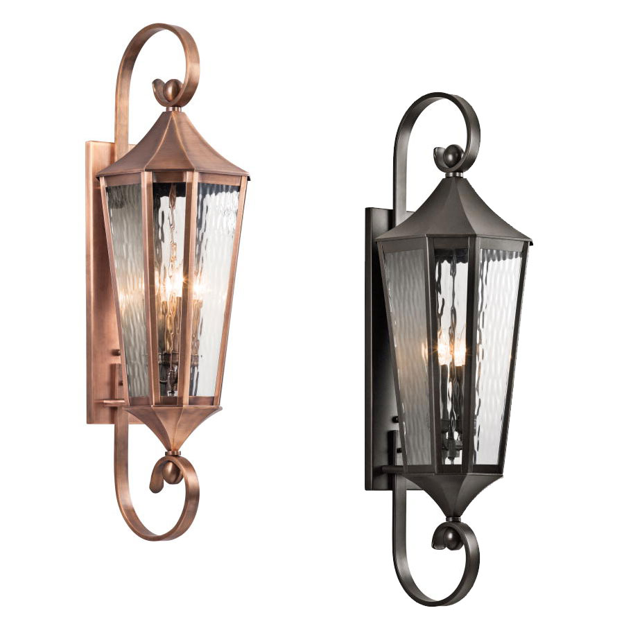 Kichler Exterior Wall Sconces : Kichler 49514 Rochdale Traditional 39.75