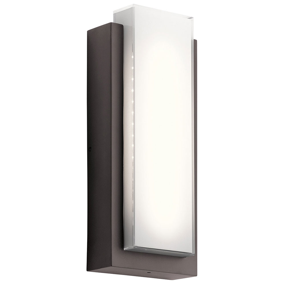 Kichler 49557azled dahlia modern architectural bronze led outdoor kichler 49557azled dahlia modern architectural bronze led outdoor medium light sconce loading zoom amipublicfo Choice Image