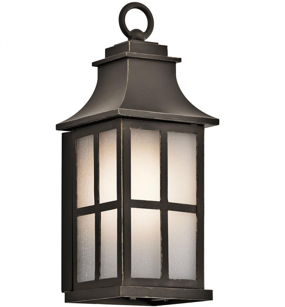Wall Sconces Exterior : Kichler 49579OZ Pallerton Way Olde Bronze Exterior Wall Sconce Light - KIC-49579OZ