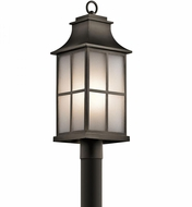 Kichler 49583OZ Pallerton Way Olde Bronze Exterior Post Light