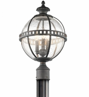 Kichler 49604LD Halleron Londonderry Outdoor Lighting Post Light