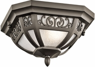 Kichler 49615OZ Park Row Olde Bronze Outdoor Ceiling Lighting Fixture