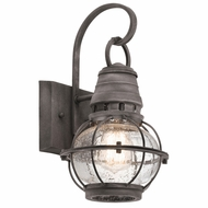 Kichler 49627WZC Bridge Point Nautical Londonderry Exterior Extra Large Wall Light Sconce
