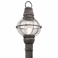Kichler 49631WZC Bridge Point Nautical Weathered Zinc Exterior Post Light Fixture