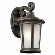 Kichler 49654OZ Turlee Olde Bronze Outdoor Small Lamp Sconce