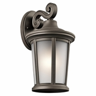 Kichler 49655OZ Turlee Olde Bronze Outdoor Medium Wall Light Fixture