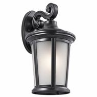 Kichler 49656BK Turlee Black Exterior Large Lighting Wall Sconce