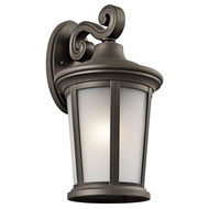 Kichler 49656OZ Turlee Olde Bronze Outdoor Large Wall Lighting Sconce