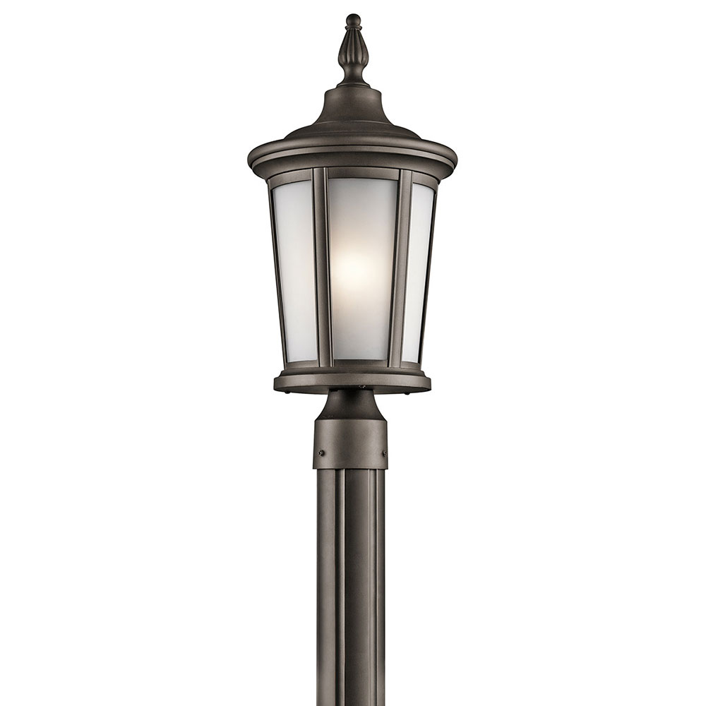 Outdoor light post fixtures antique copper finished 3 for Outdoor light post fixtures