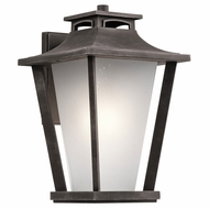 Kichler 49662WZC Sumner Court Weathered Zinc Exterior Extra Large Wall Light Sconce