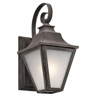 Kichler 49700WZC Northview Weathered Zinc Exterior Small Wall Sconce Lighting