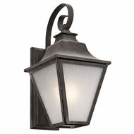 Kichler 49701WZC Northview Weathered Zinc Outdoor Medium Wall Light Fixture
