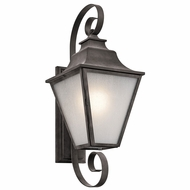 Kichler 49702WZC Northview Weathered Zinc Exterior Large Lighting Wall Sconce
