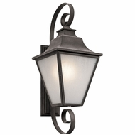 Kichler 49703WZC Northview Weathered Zinc Outdoor Extra Large Wall Lighting Sconce