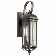 Kichler 49709OZ Galemore Olde Bronze Exterior Small Wall Sconce Lighting