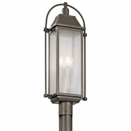 Kichler 49717OZ Harbor Row Olde Bronze Exterior Lighting Post Light