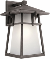 Kichler 49722WZCL16 Beckett Weathered Zinc LED Outdoor Lamp Sconce