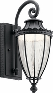 Kichler 49751BKTLED Wakefield Textured Black LED Exterior 7  Wall Mounted Lamp