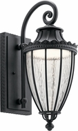 Kichler 49752BKTLED Wakefield Textured Black LED Outdoor 9  Wall Light Sconce