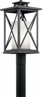 Kichler 49773DBK Piedmont Distressed Black Exterior Lighting Post Light