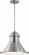 Kichler 49777BA Northland Contemporary Brushed Aluminum Exterior Hanging Light Fixture