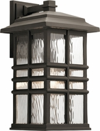 Kichler 49831OZ Beacon Square Olde Bronze Outdoor 9.5  Wall Lighting